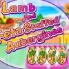 Lamb and Feta Stuffed Aubergines
